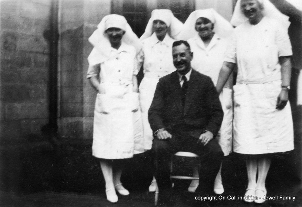 227 NPJ and Nursing staff, Nairobi, 1930s
